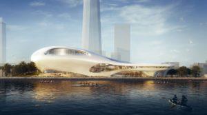 projeto do museu a ser desenvolvido em LA.